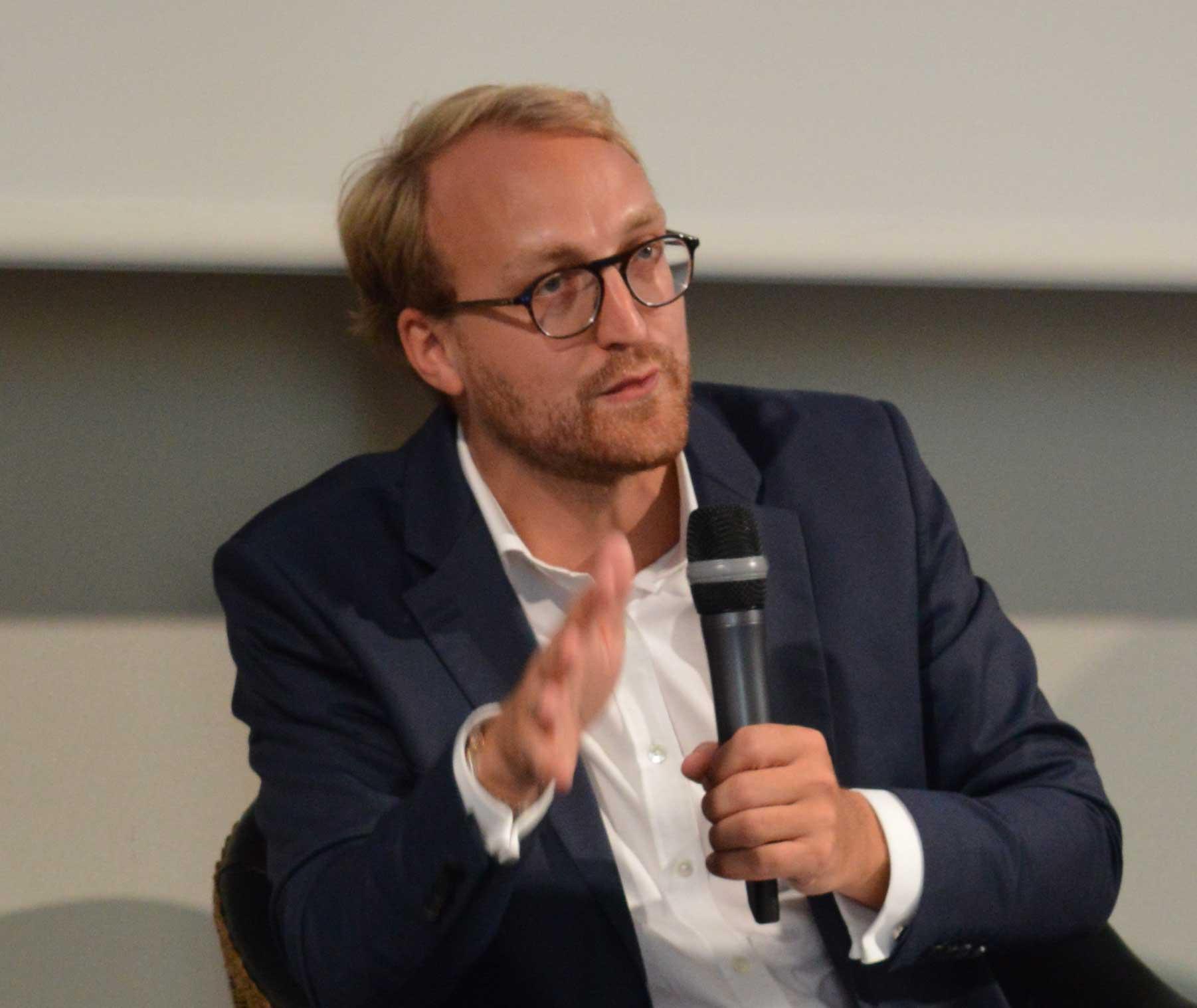 Édouard Simon à la tête du bureau de Bruxelles