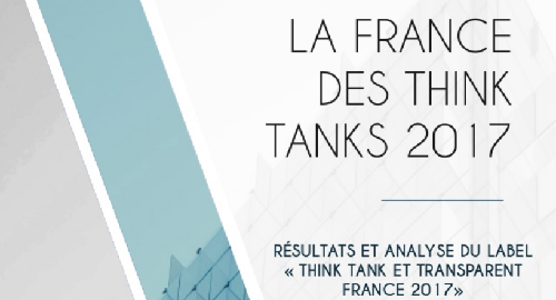 Confrontations Europe classé 3e think tank