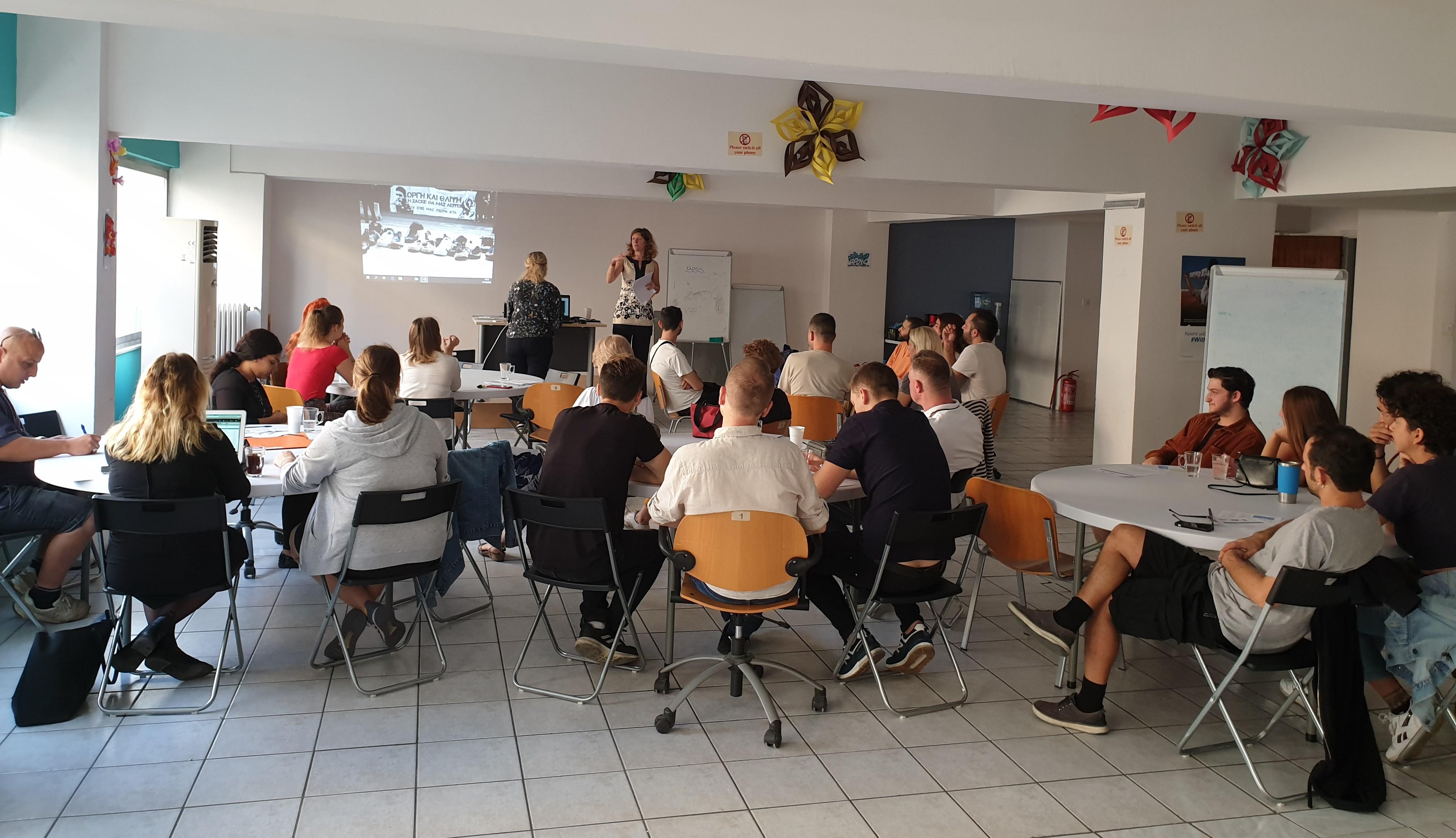 Solidarity Tour en étape à Athènes : Mieux comprendre les migrations