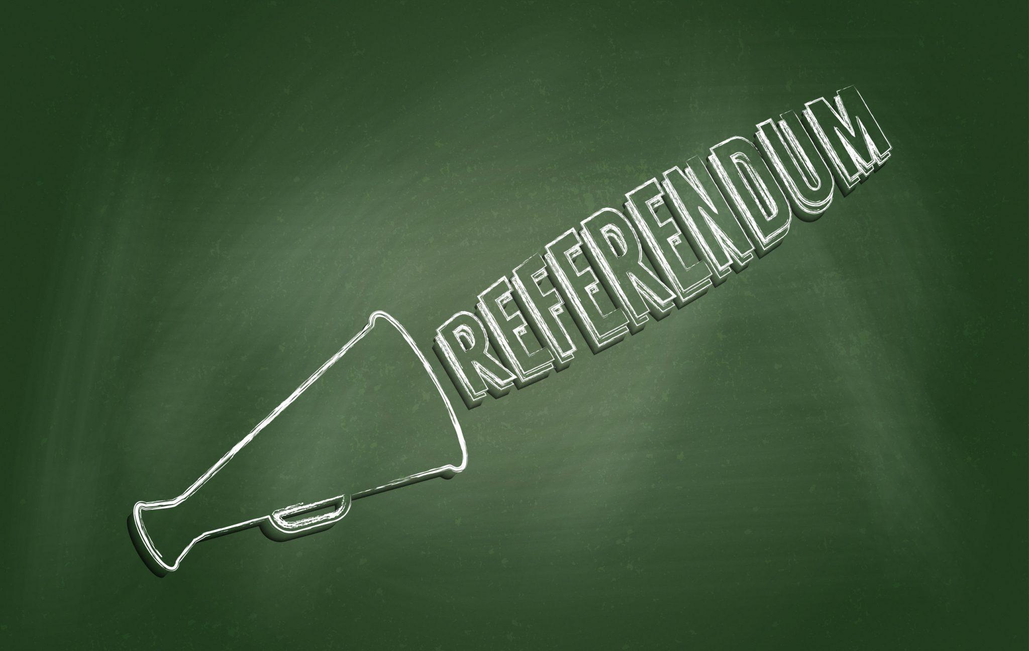 Le référendum, cet outil démagogique...