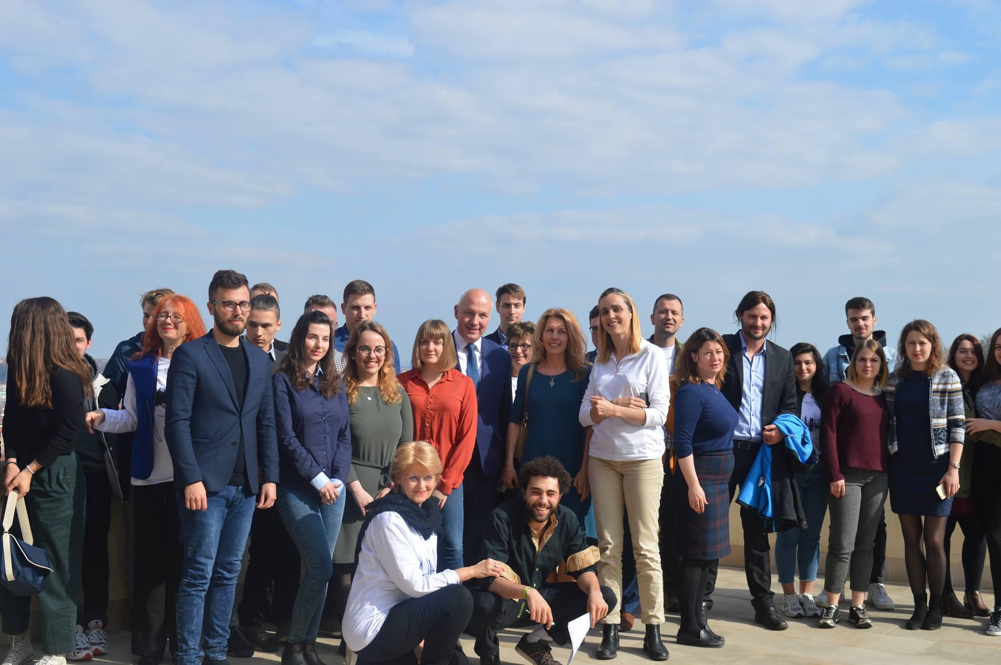 Solidarity Tour en étape à Prague : Permettre aux jeunes d'exprimer leur européanité