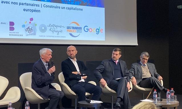 Actes du Colloque  : « Un capitalisme européen coopératif ? »