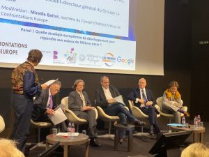 Panel 2 : Quelle stratégie européenne de développement pour répondre aux enjeux du XXIème siècle ? (Colloque du 5 décembre 2019)